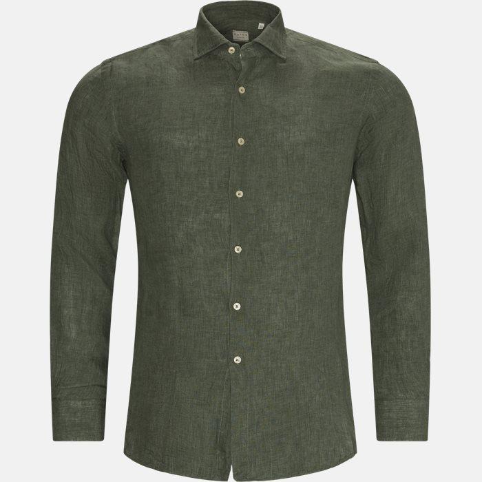 Skjorter - Slim - Grøn