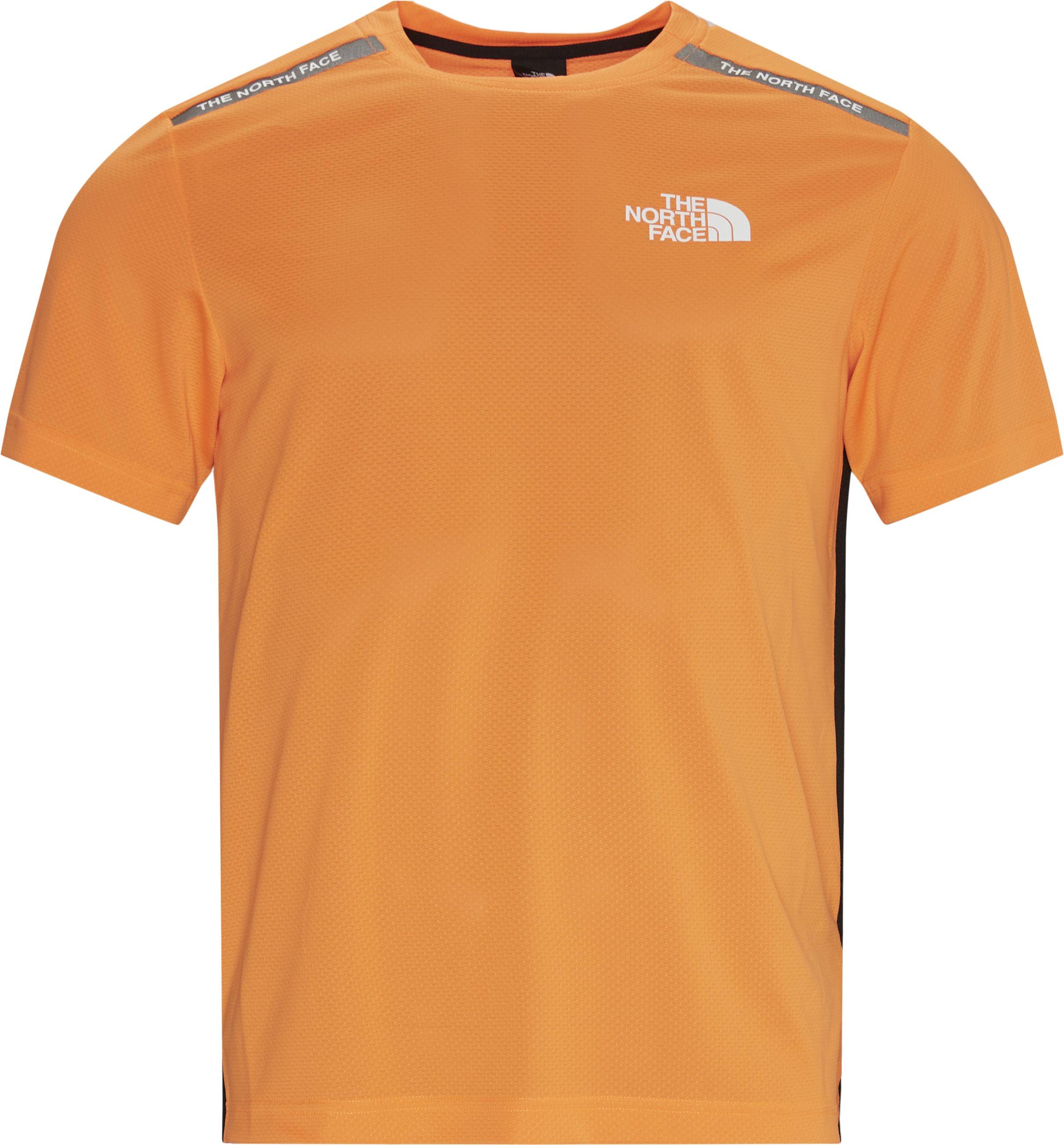Eu Tee - T-shirts - Regular - Orange