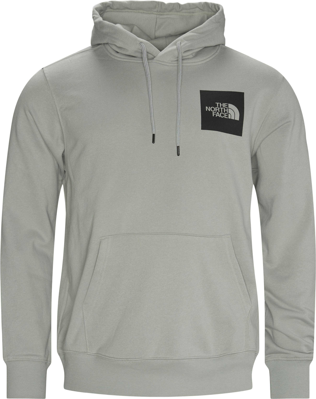 Fine Hoodie - Sweatshirts - Regular - Grå