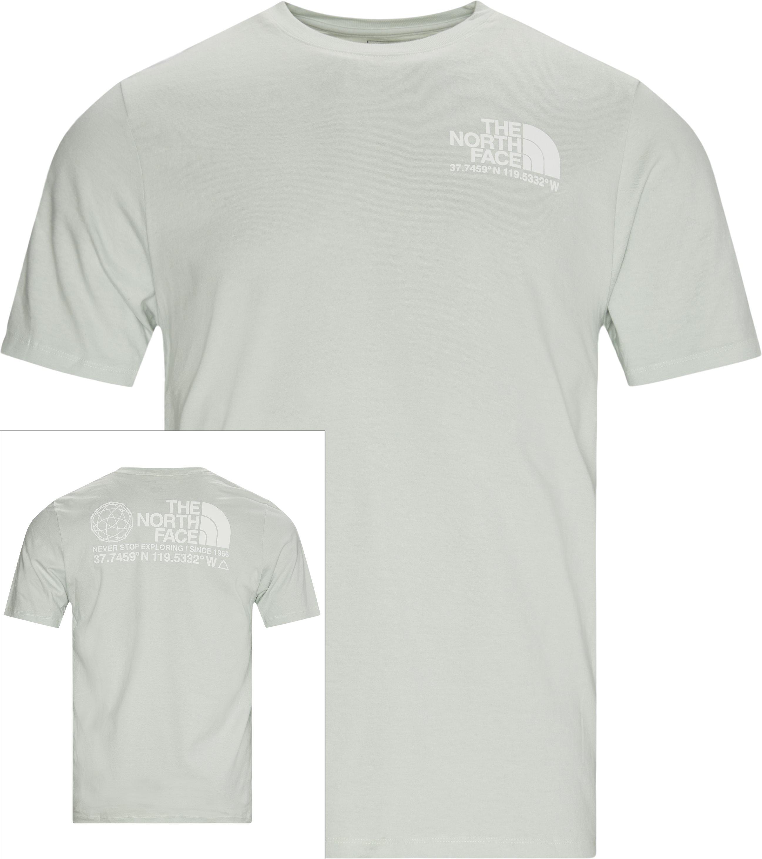Coordinates Tee - T-shirts - Regular - Grön