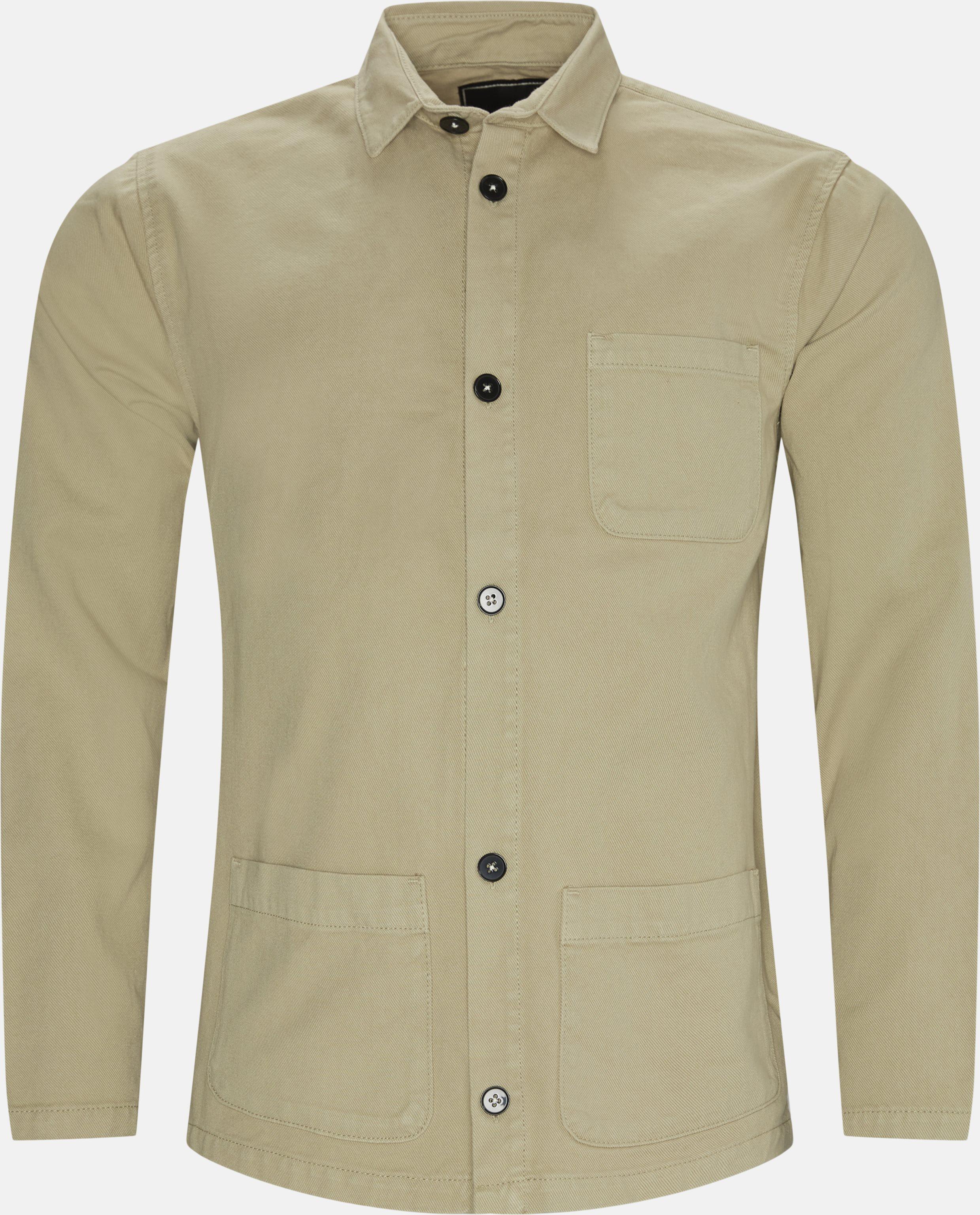 Overshirt  - Skjorter - Regular - Sand
