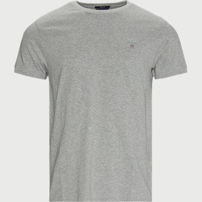 Original Crew T-shirt Regular | Original Crew T-shirt | Grå