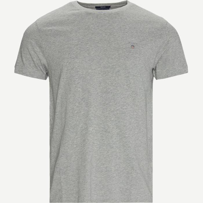 Original Crew T-shirt - T-shirts - Regular - Grå