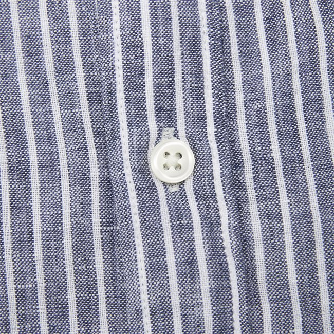 The Linen Stripe SS Shirt