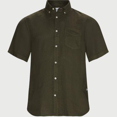 Regular fit | Kurzärmlige Hemden | Oliv