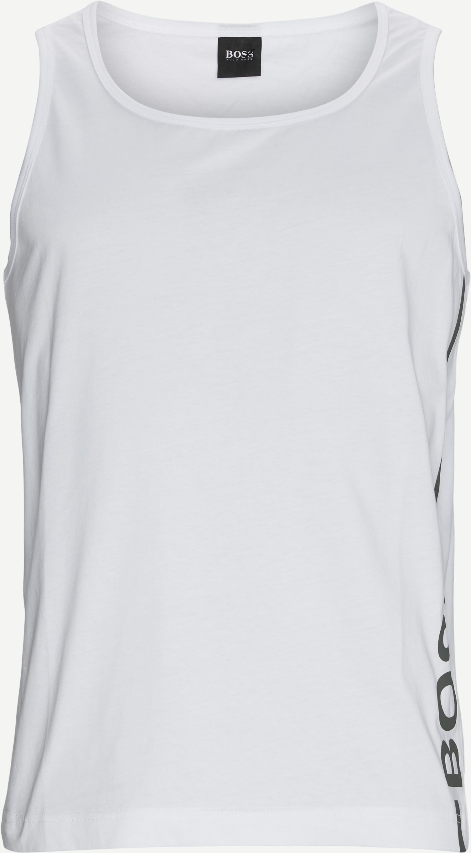 Beach Tank Top - T-shirts - Regular - White