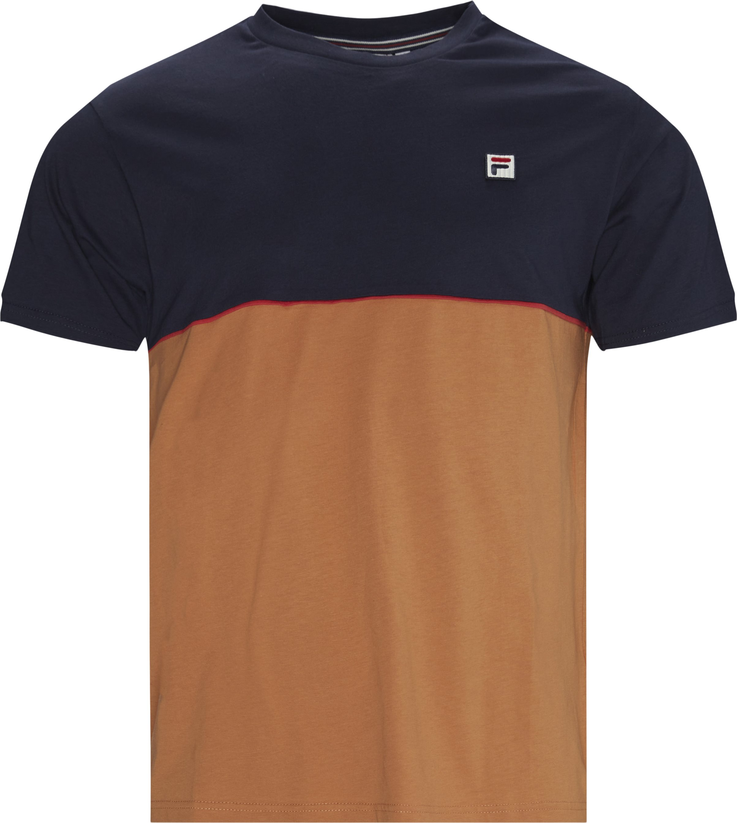 Havard Tee - T-shirts - Regular fit - Blå