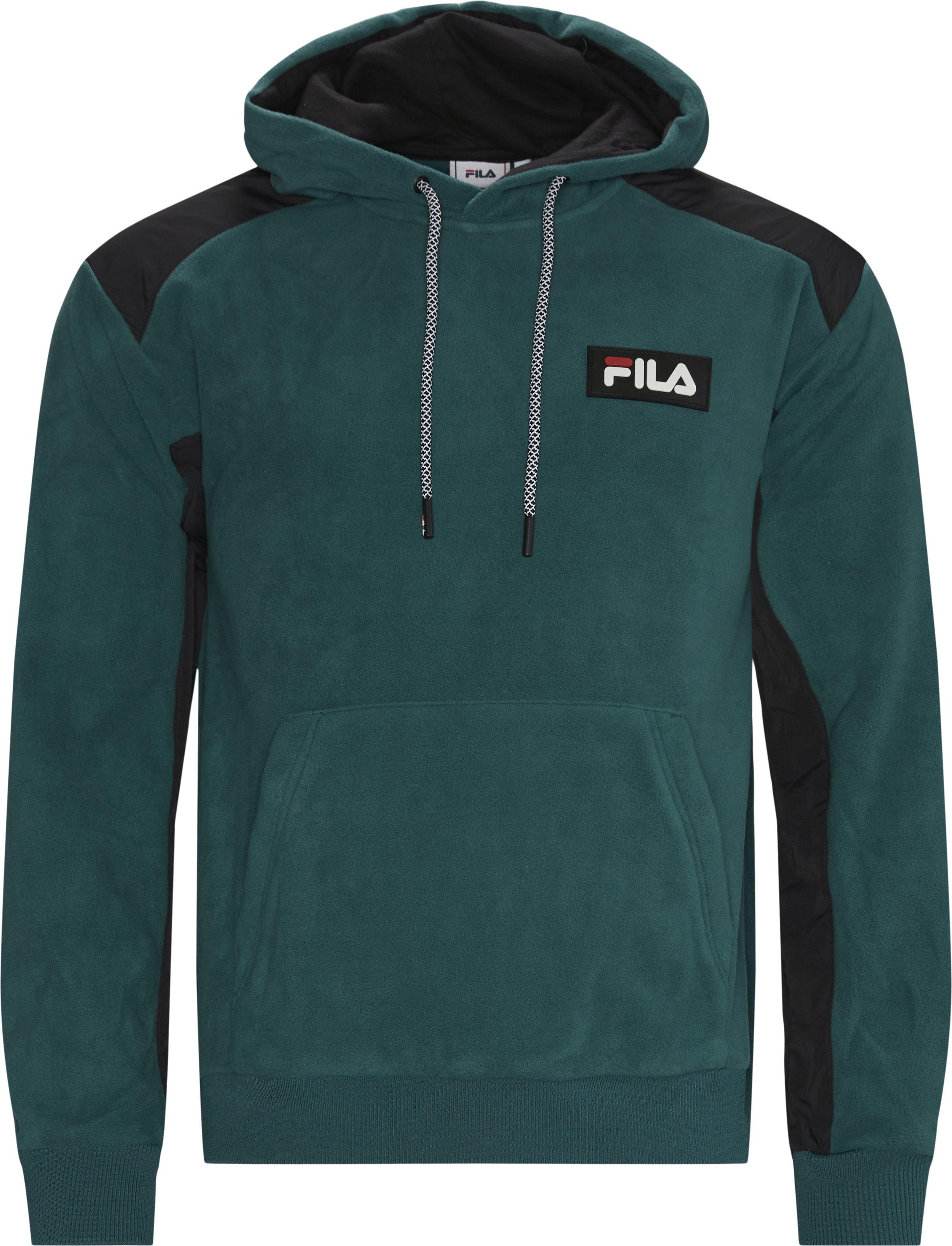Crevan Drop Hoodie - Sweatshirts - Regular fit - Grøn