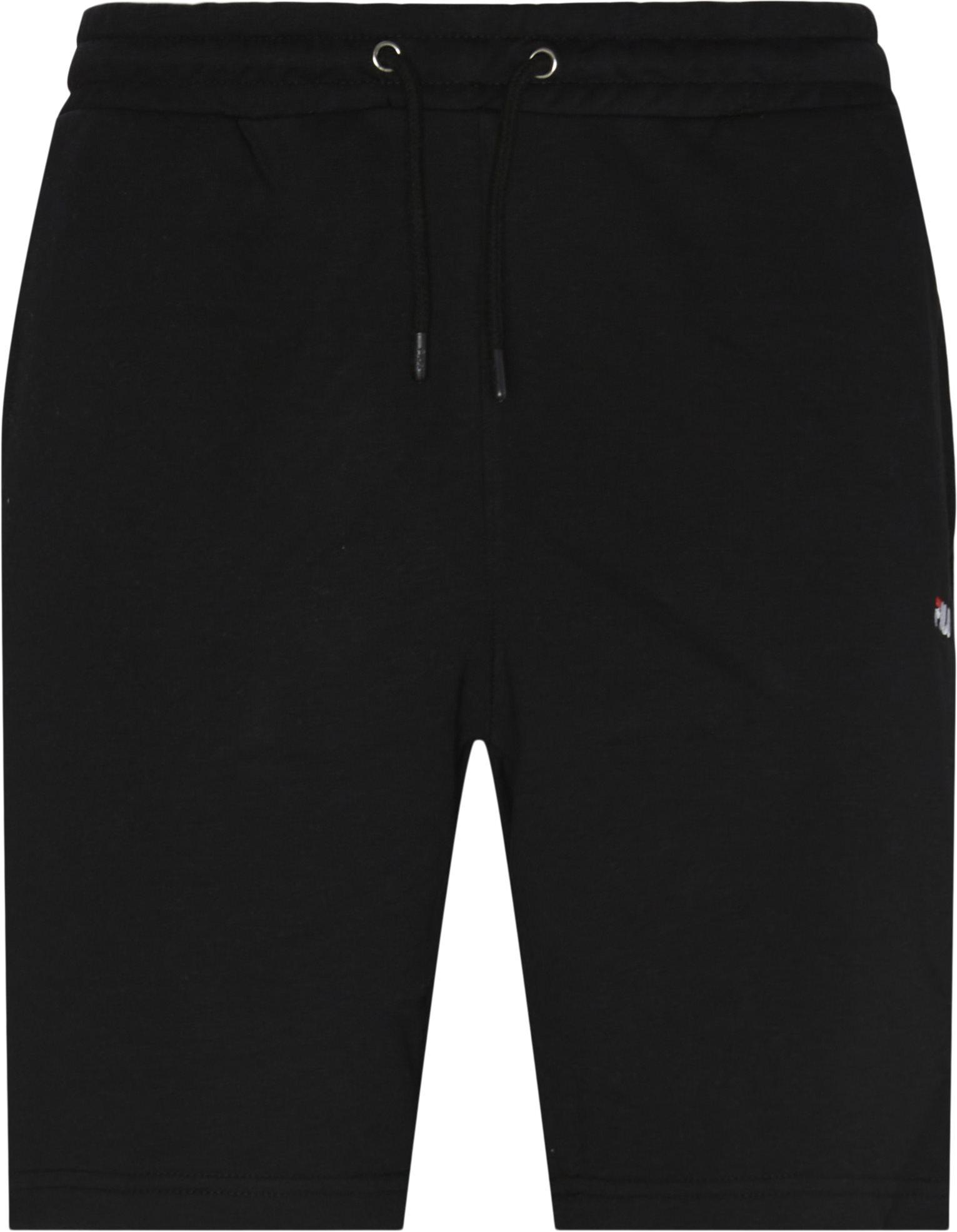 Eldon Sweatshorts - Shorts - Regular fit - Sort