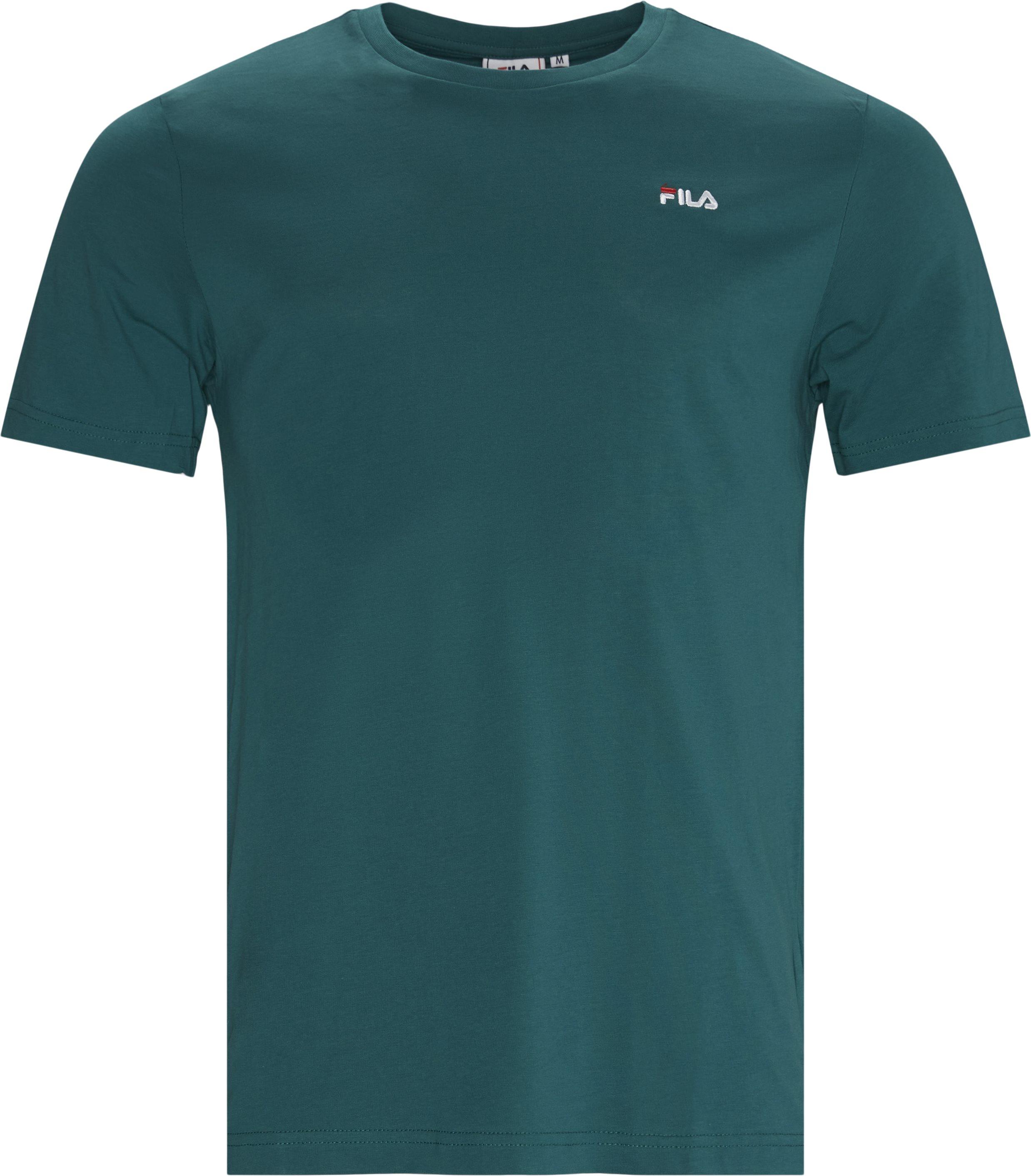 Unwind Tee - T-shirts - Regular - Grøn
