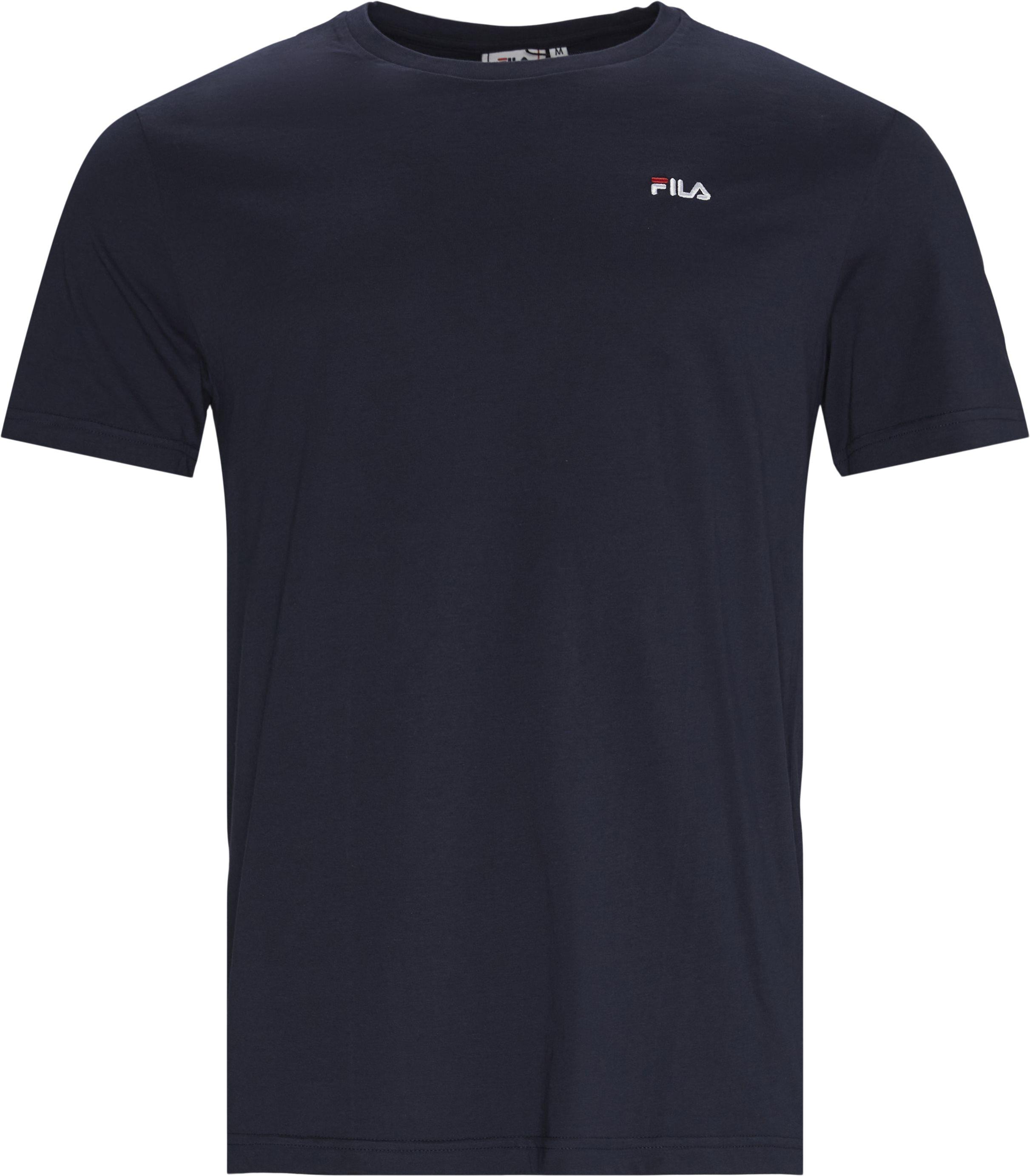Unwind Tee - T-shirts - Regular - Blå