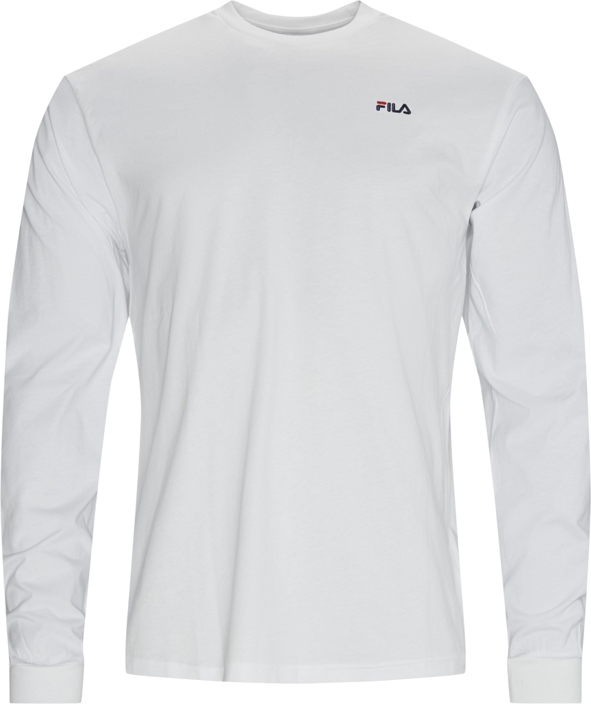 Eitan L/Æ Tee - T-shirts - Regular - Vit