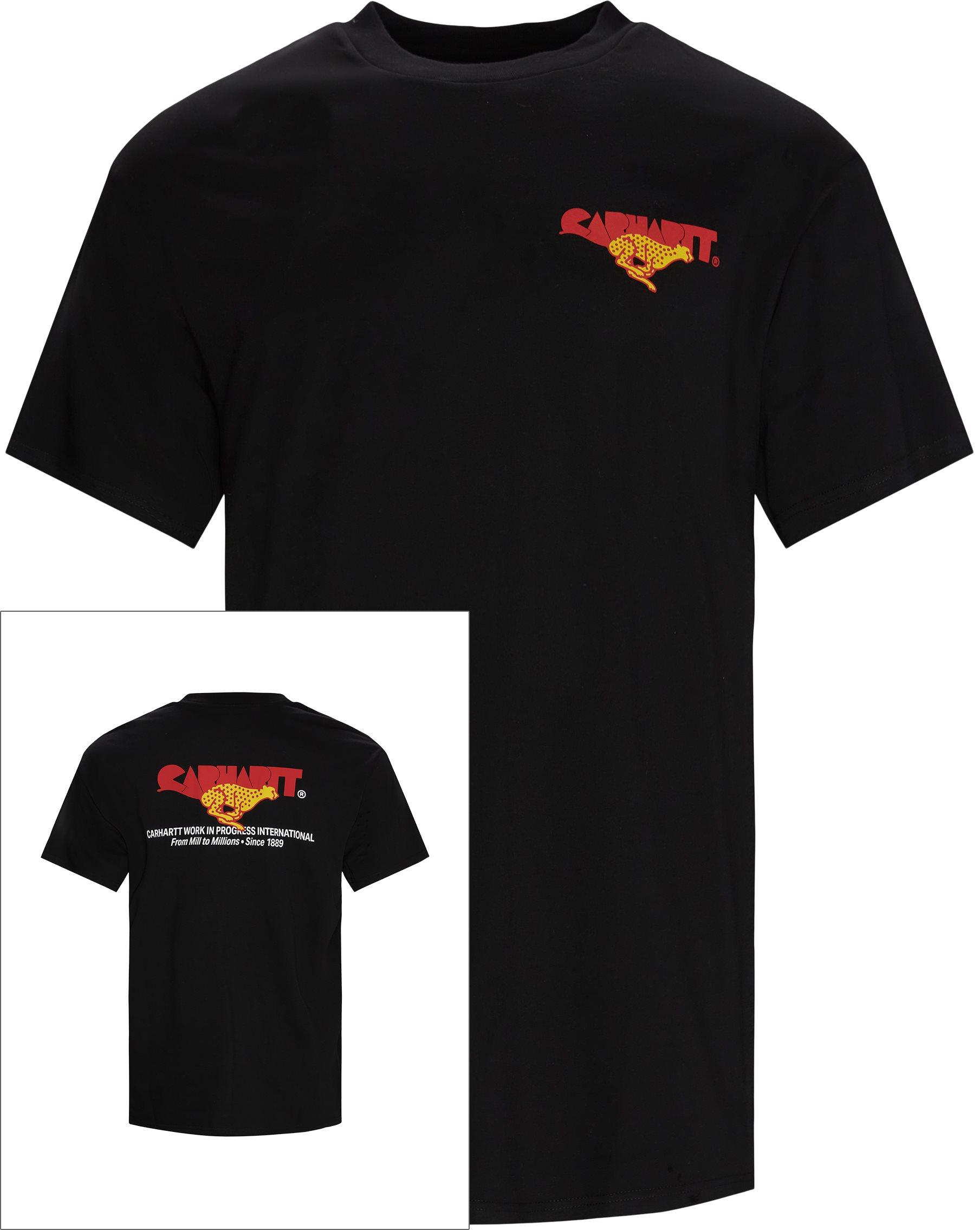 Runner Tee - T-shirts - Regular fit - Black