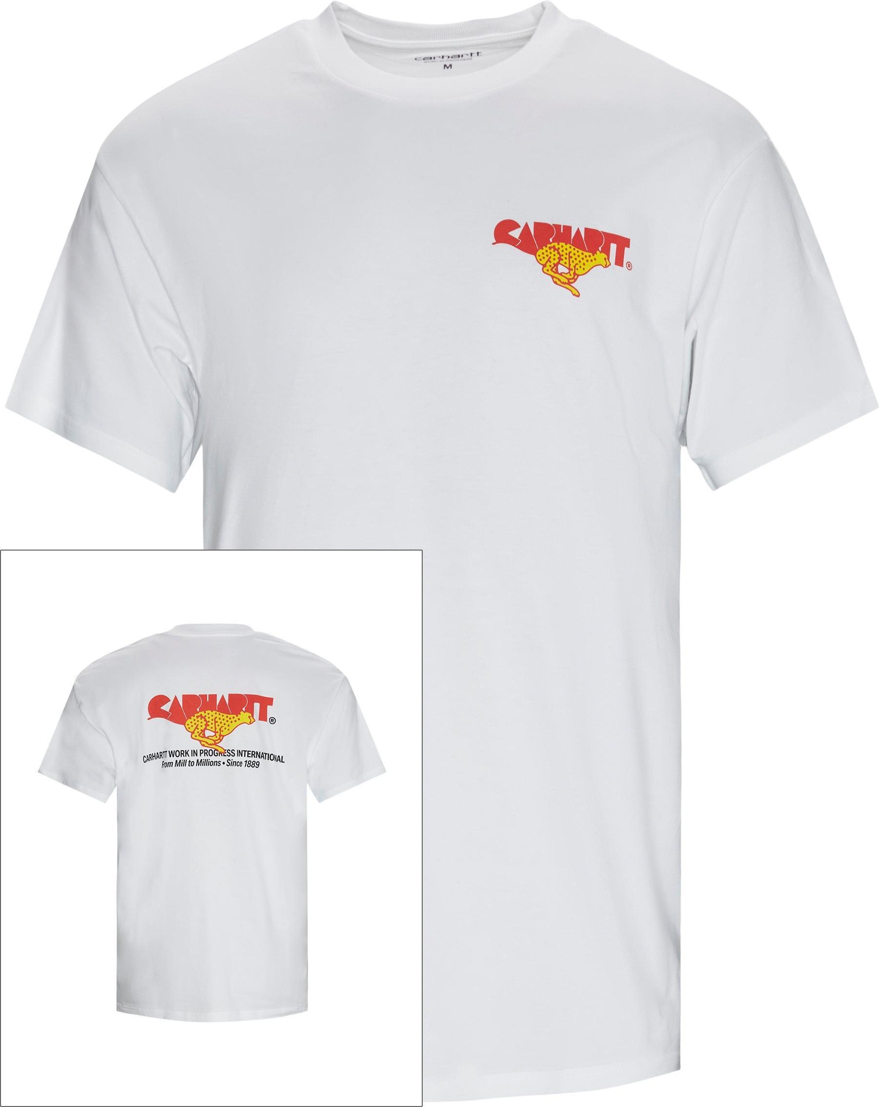 Runner Tee - T-shirts - Regular fit - White