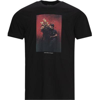 S/S BOUQUET Logo T-shirt Loose fit | S/S BOUQUET Logo T-shirt | Sort