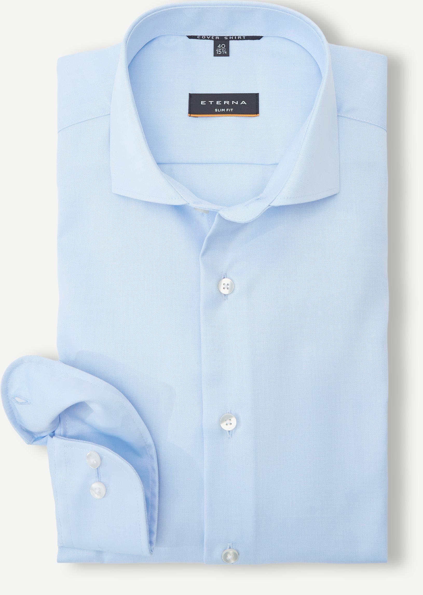 Cover Skjorte Slim Fit - Skjorter - Blå