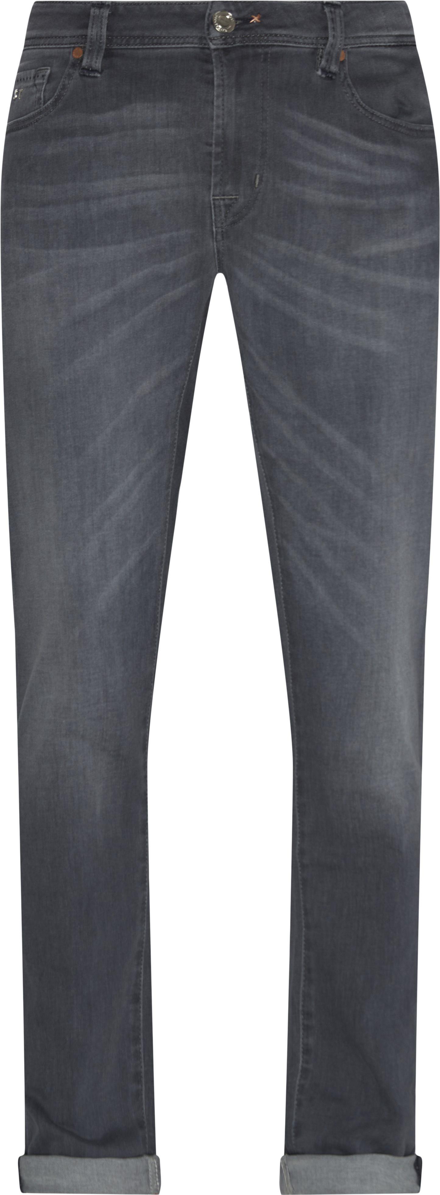 Jeans - Slim fit - Grå