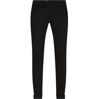 Slim fit | Jeans | Sort