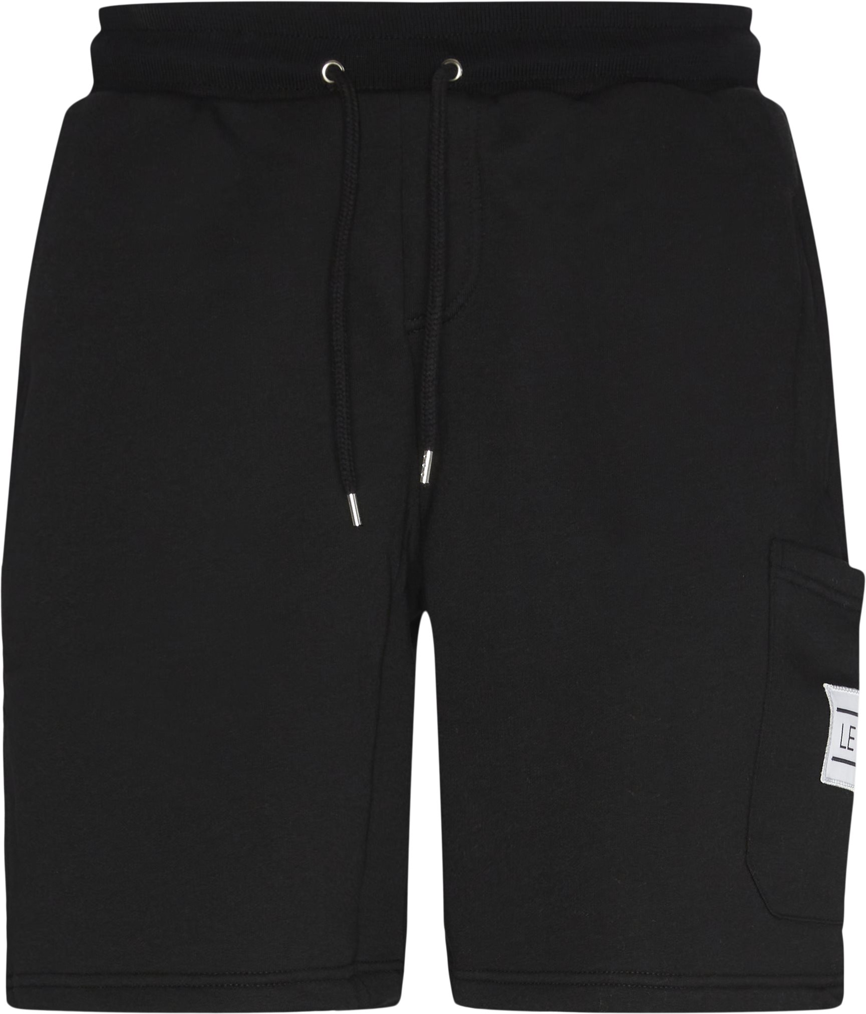 Alain Sweatshorts - Shorts - Regular fit - Sort