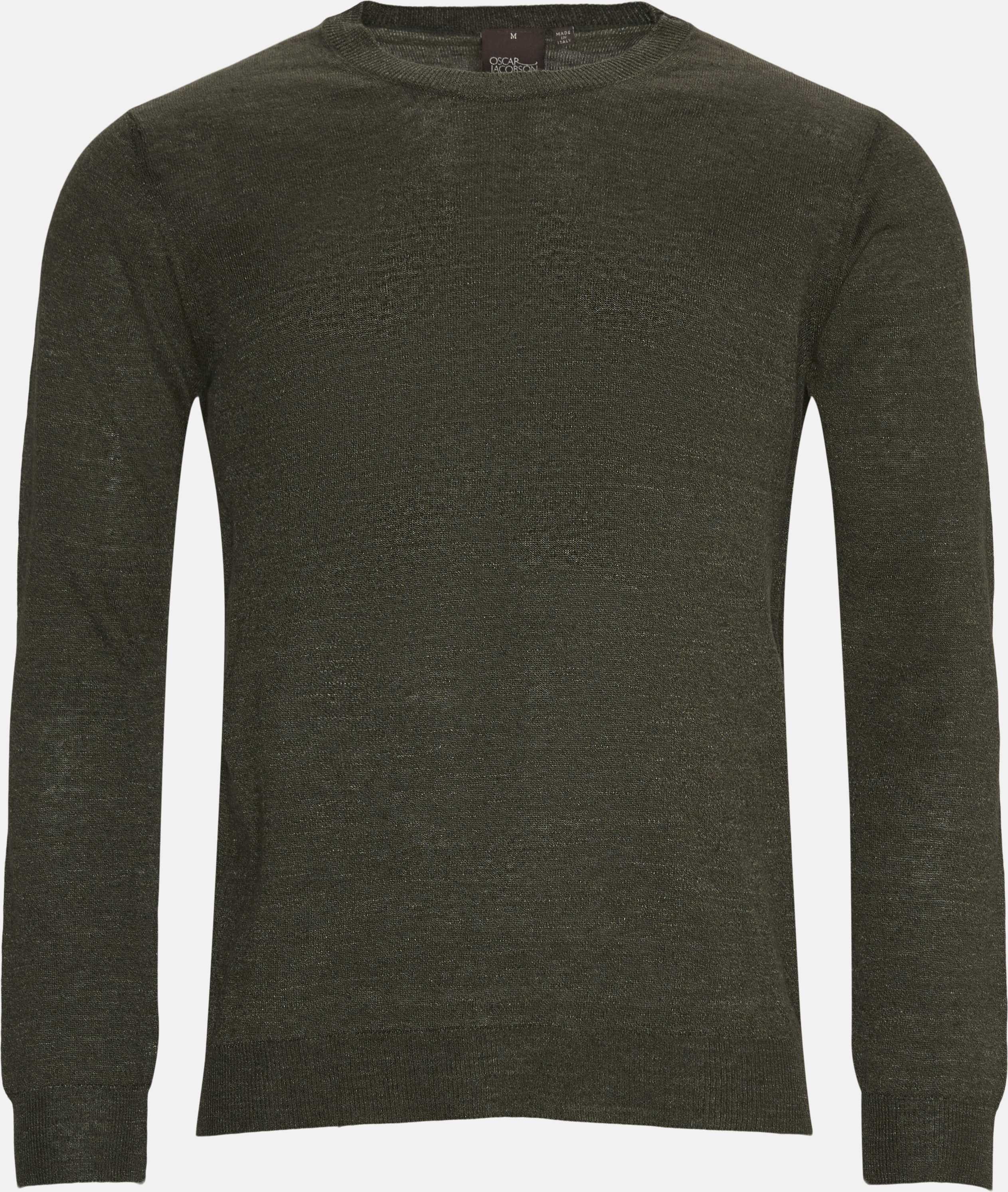 Custer Crewneck - Strik - Regular - Army