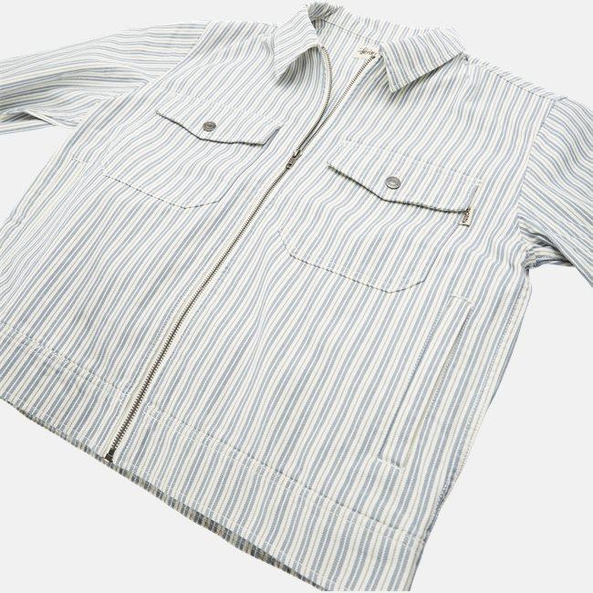 Stripe Garage Jacket