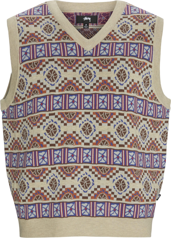 Giza Sweater Vest - Stickat - Regular - Sand