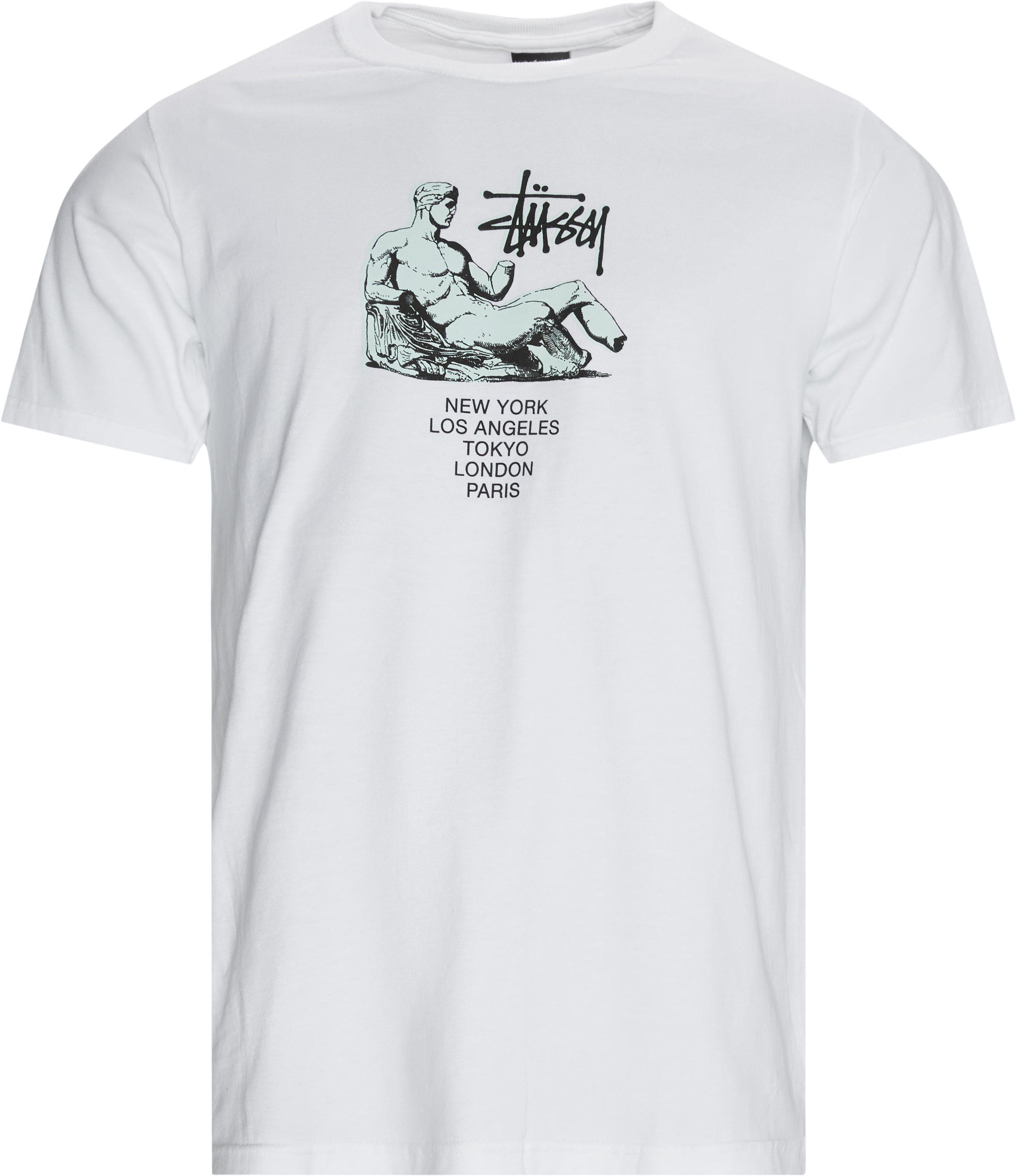 Dionysos Tee - T-shirts - Regular - Vit