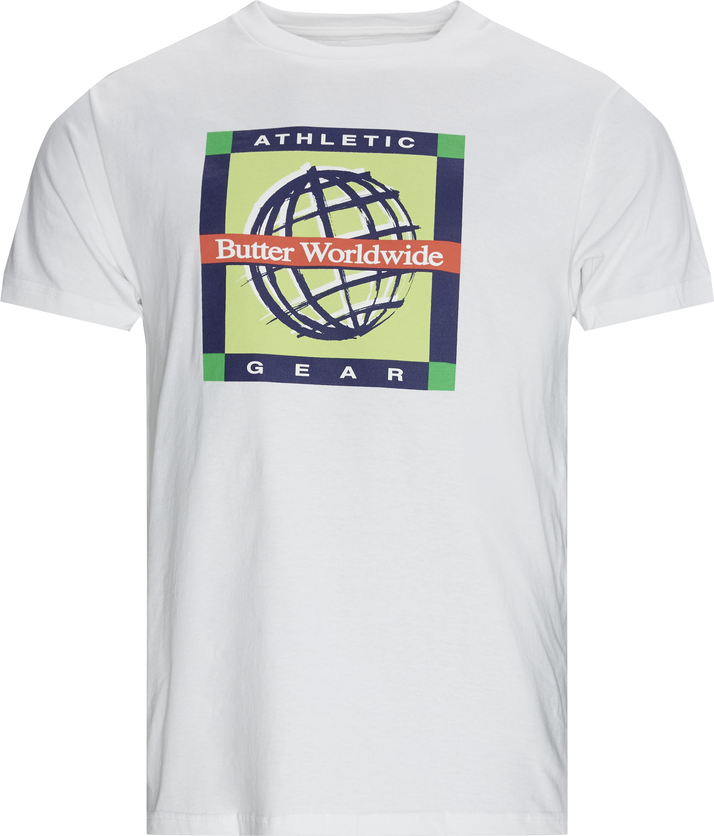 Athletic Gear Tee - T-shirts - Regular - Hvid