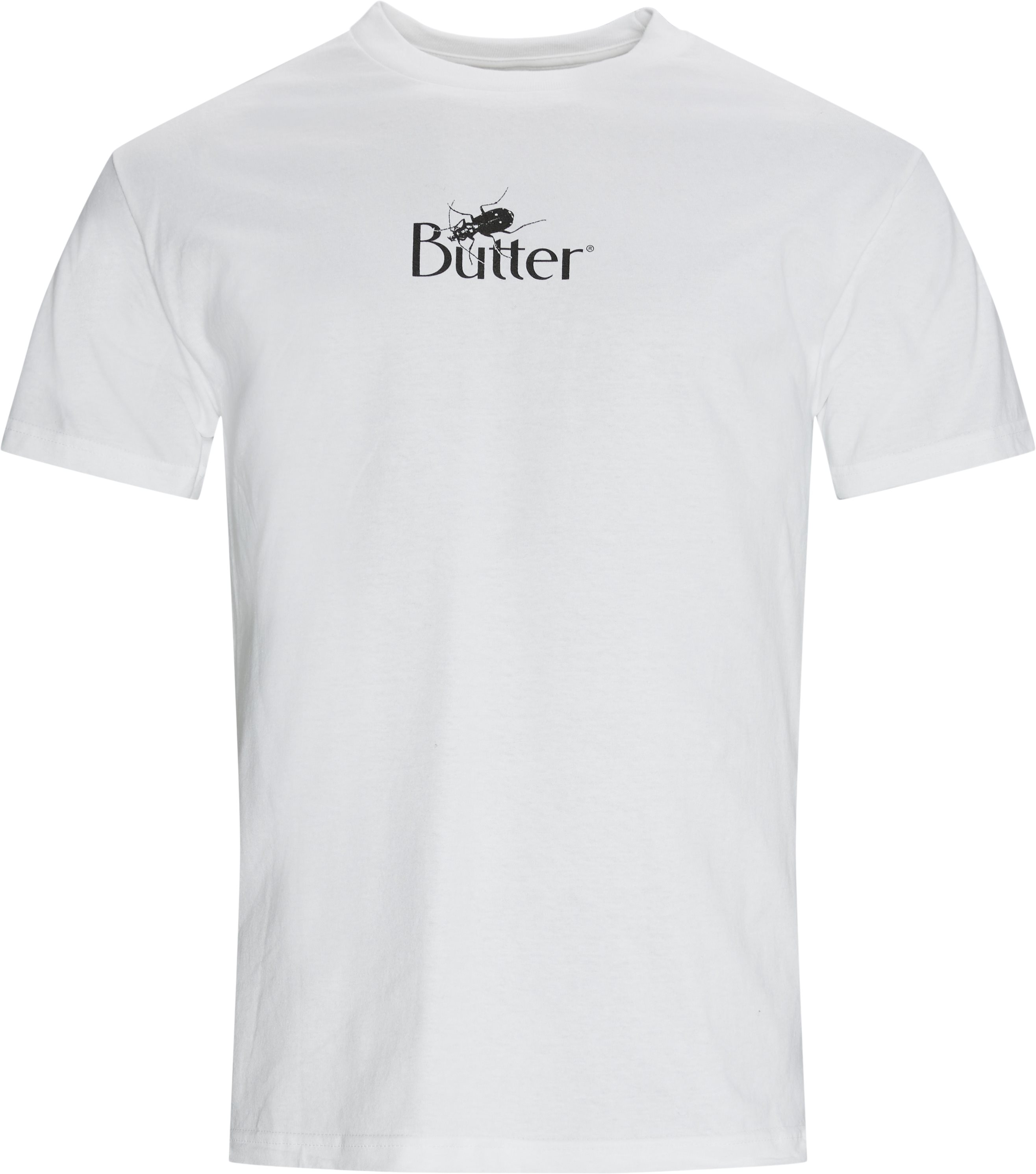 Bug Classic Logo Tee - T-shirts - Regular - Hvid