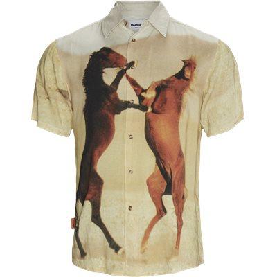 Horse K/Æ Skjorte Regular | Horse K/Æ Skjorte | Sand