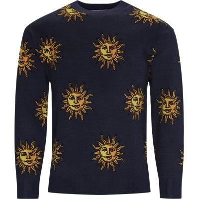 Sun Knitted Strik Regular | Sun Knitted Strik | Blå