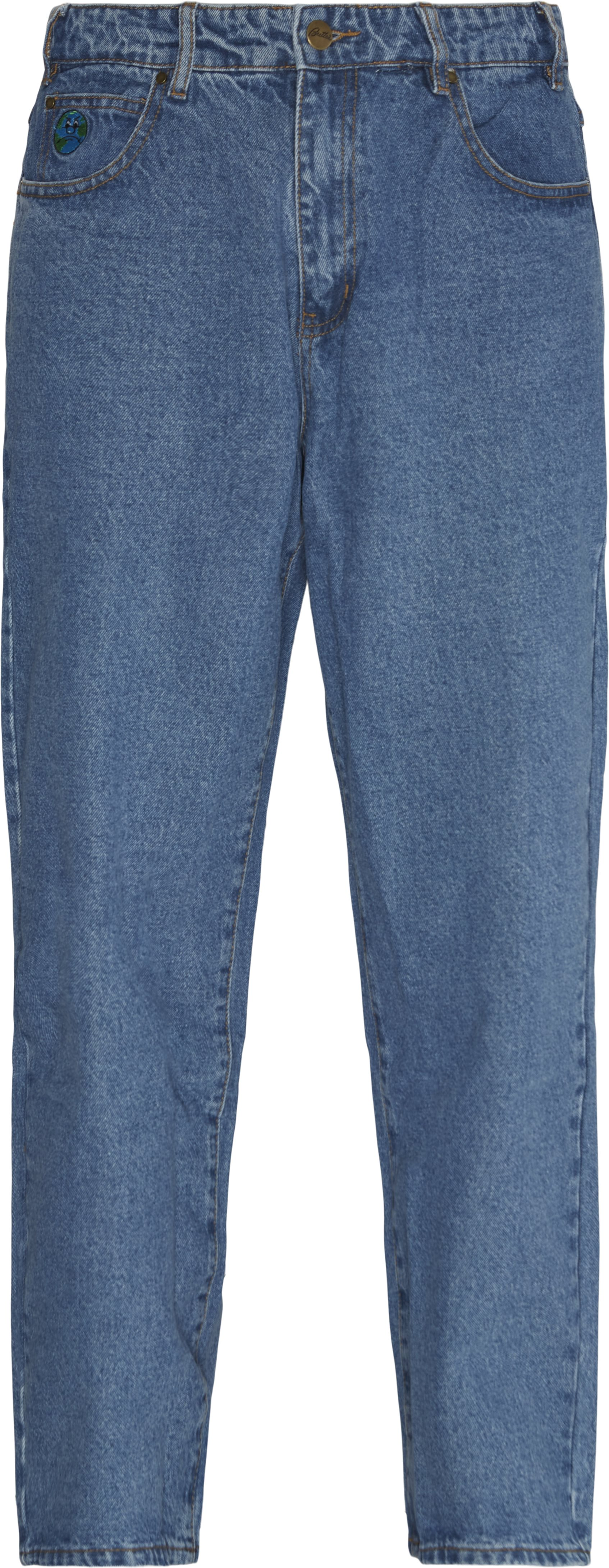 Jeans - Loose fit - Denim