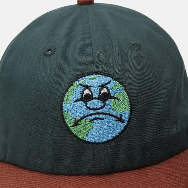World 6 Panel Strapback Cap