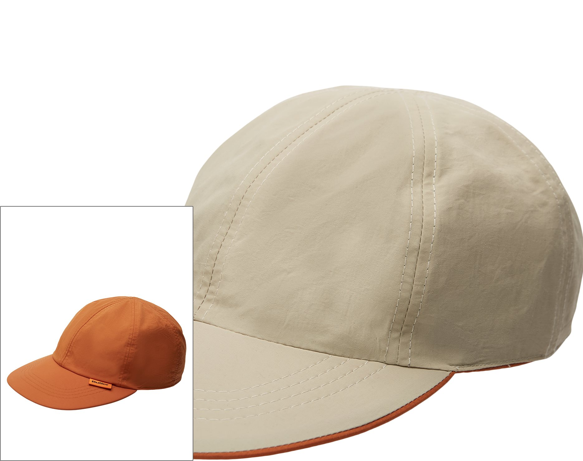 Reversible 6 Panel cap - Caps - Sand
