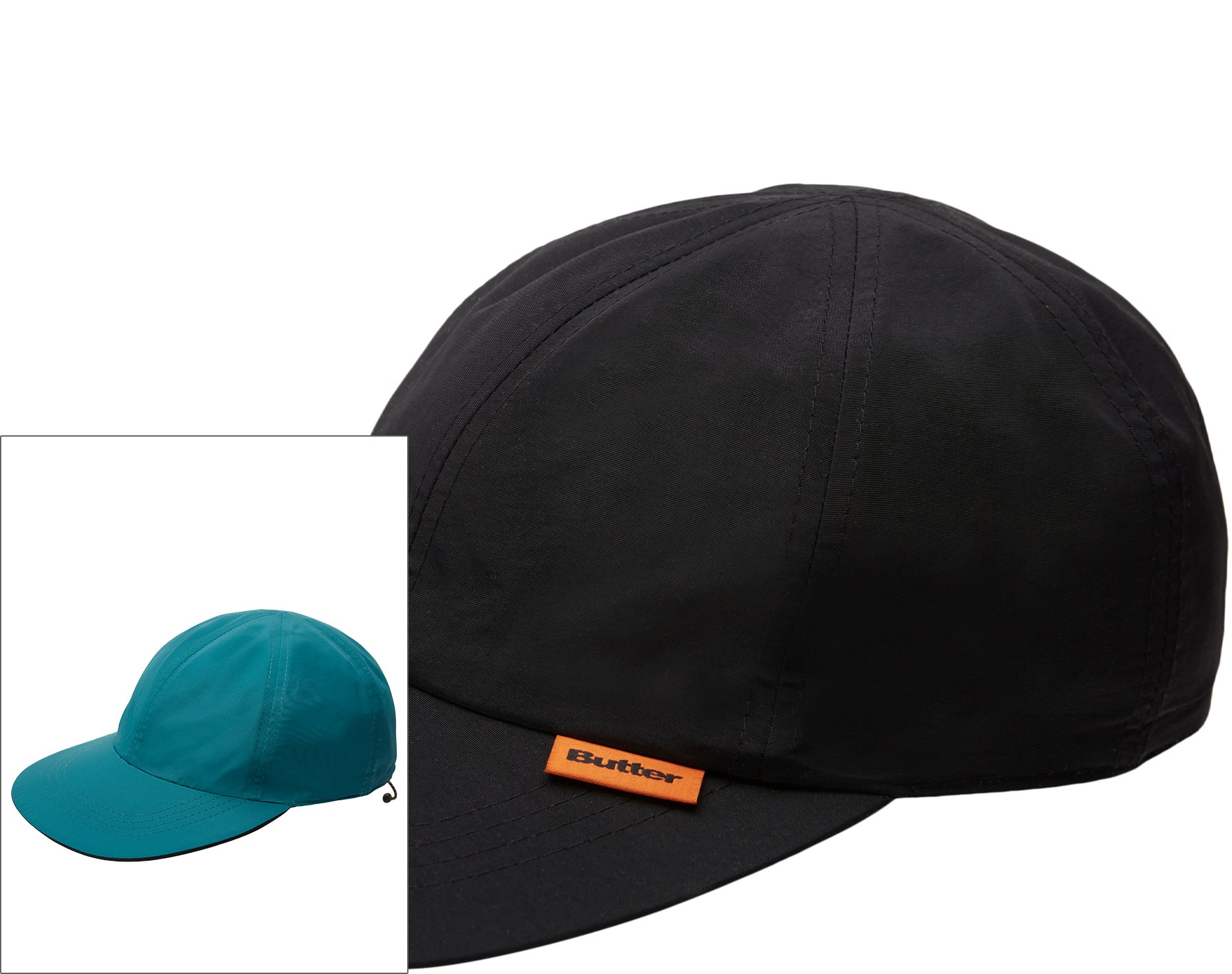 Reversible 6 Panel cap - Caps - Sort
