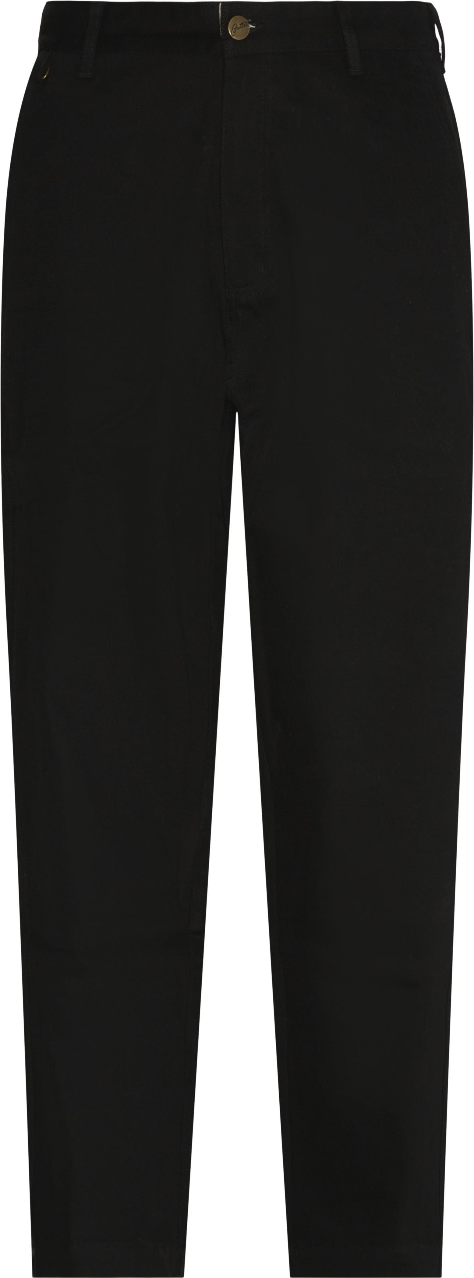 Jeans - Loose fit - Svart