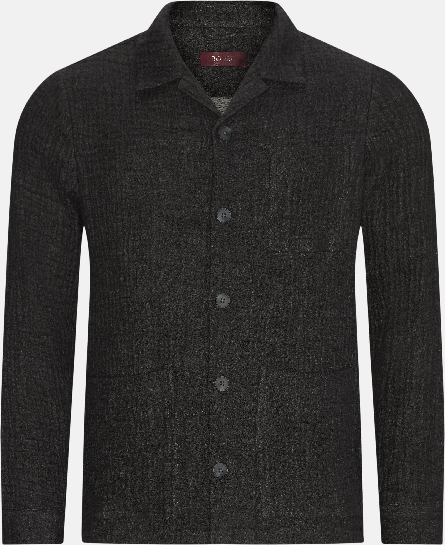 Ben Blazer - Overshirts - Regular - Grå