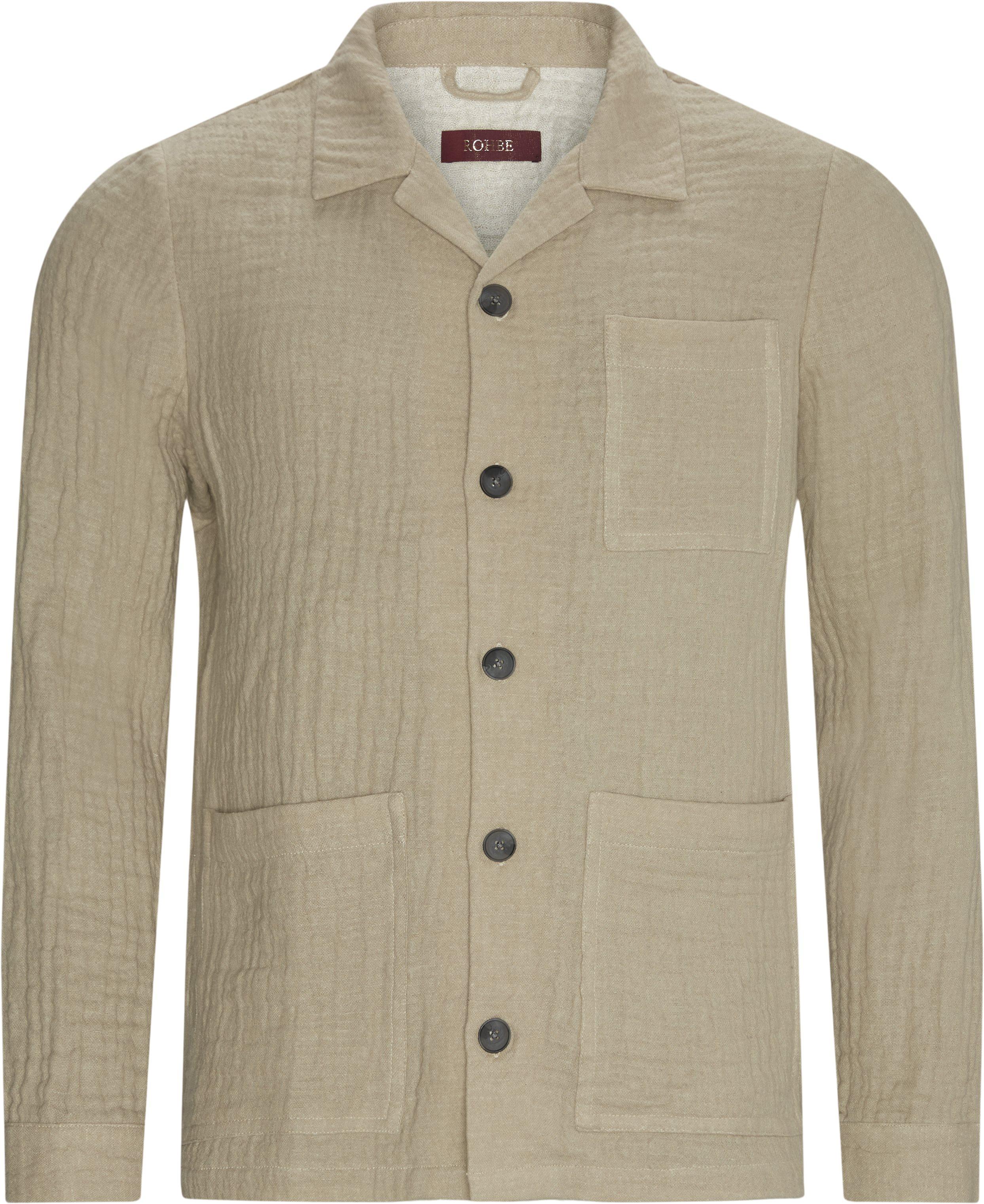 Ben Blazer - Overshirts - Regular fit - Sand