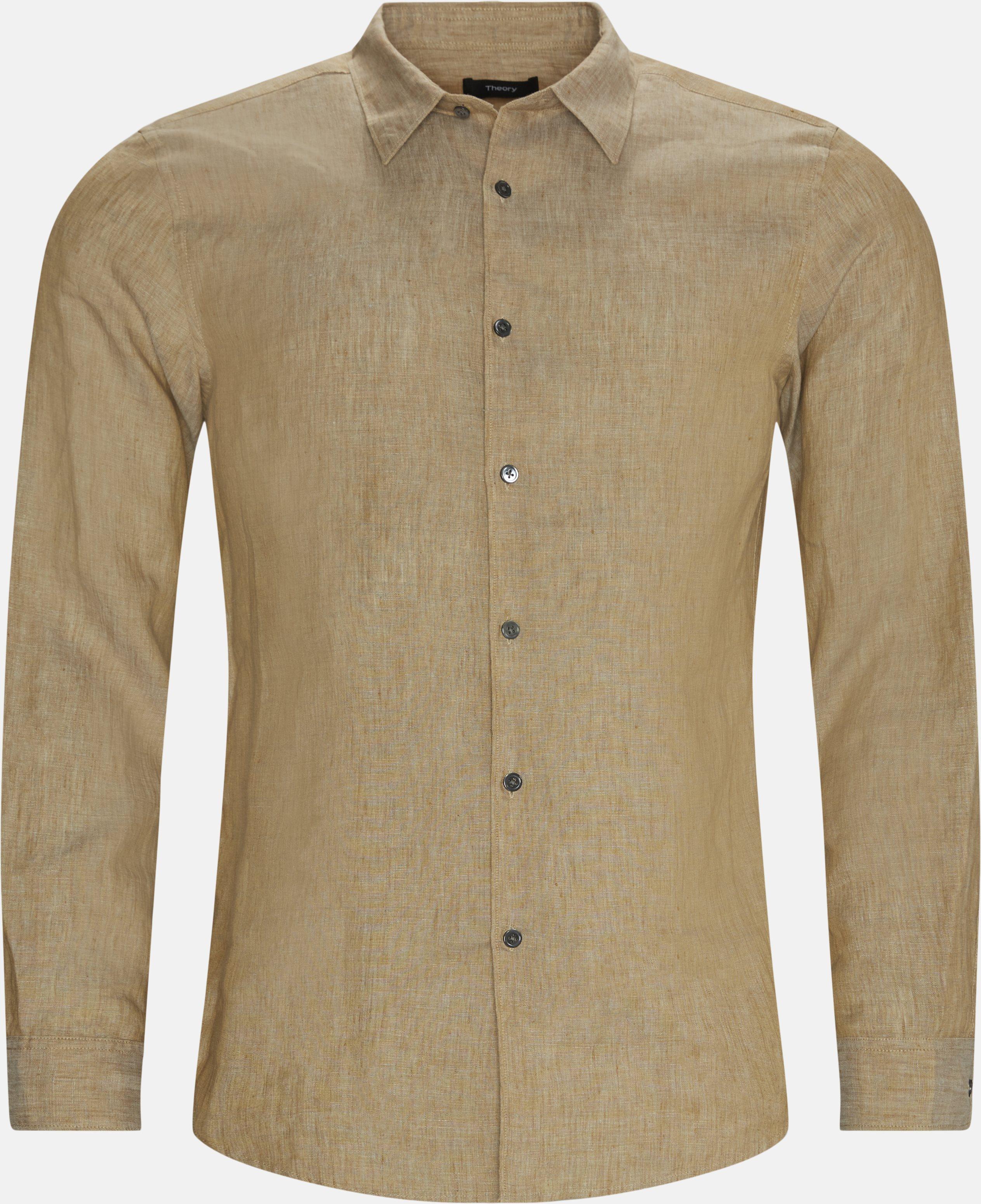 Irving Shirt - Skjorter - Regular - Sand