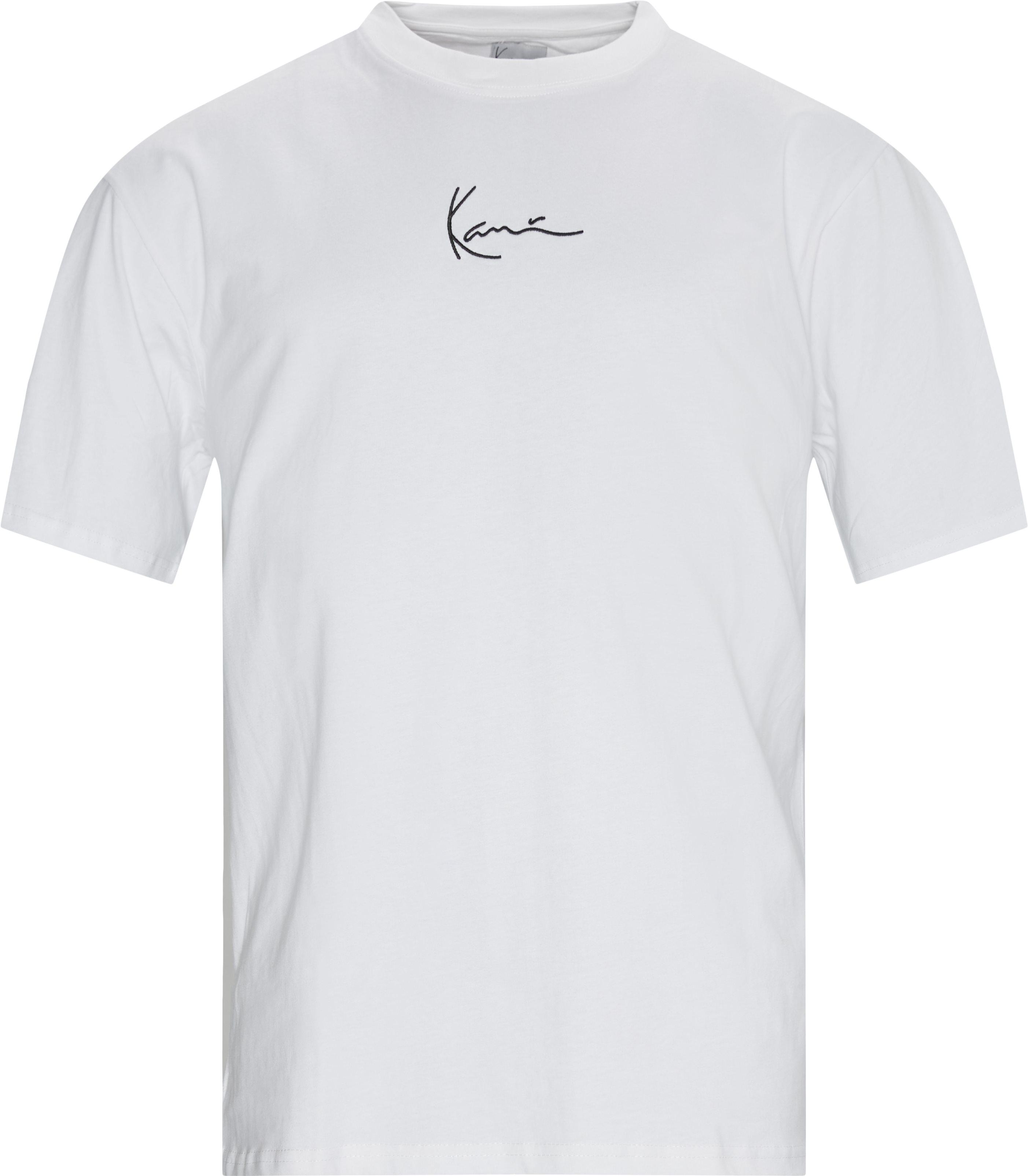 Small Signature Tee - T-shirts - Regular - White
