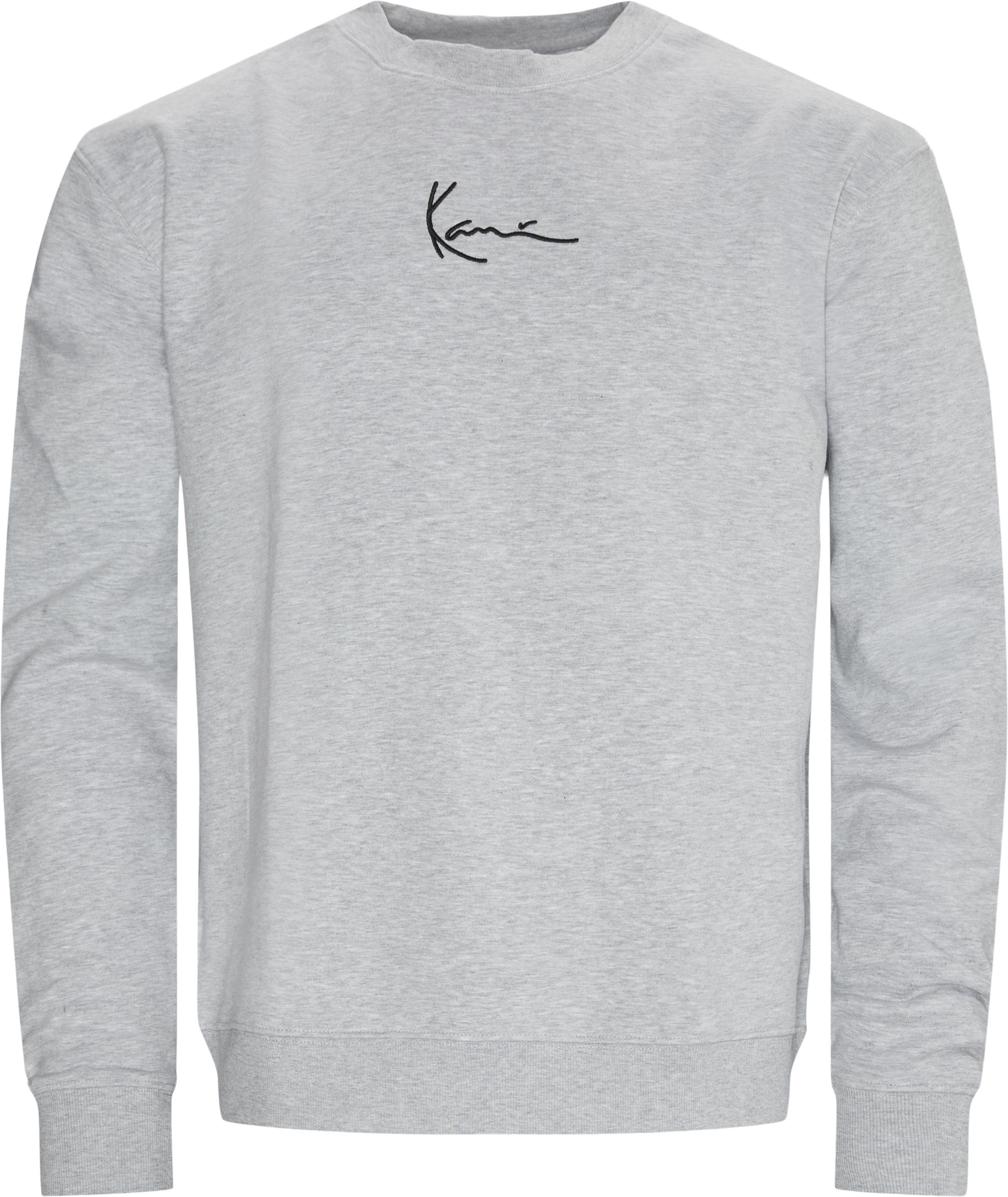 Signature Crewneck Sweatshirt - Sweatshirts - Regular - Grå