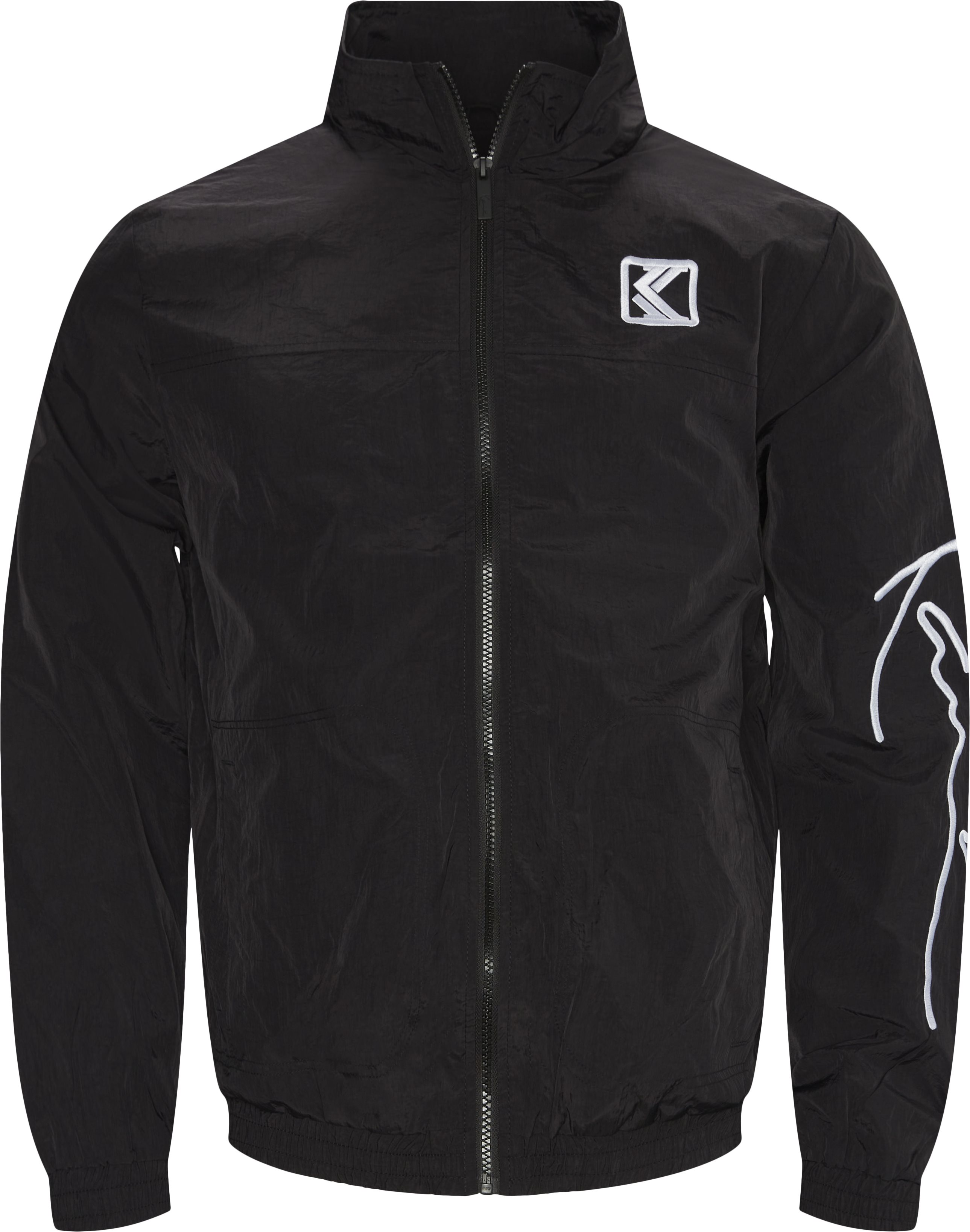 Signature Trackjacket - Sweatshirts - Regular - Black