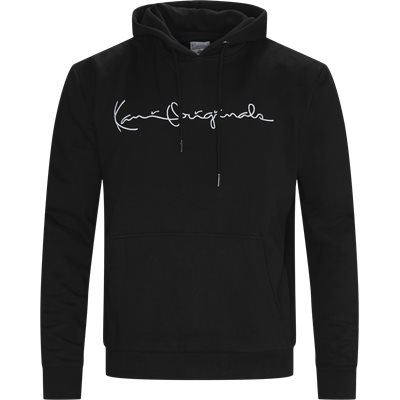 Originals Hoodie Sweatshirt Regular fit | Originals Hoodie Sweatshirt | Sort