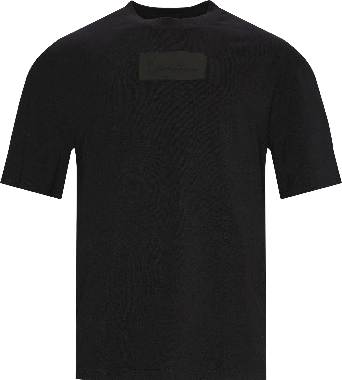 Small Signature Box Tee - T-shirts - Regular - Black