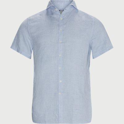 Summer Linen KÆ Skjorte Regular | Summer Linen KÆ Skjorte | Blå