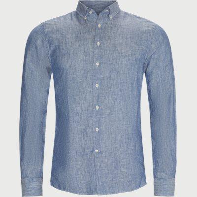 Summer Linen Skjorte Regular fit | Summer Linen Skjorte | Blå