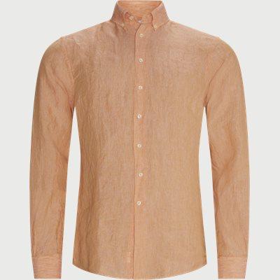 Summer Linen Skjorte Regular fit | Summer Linen Skjorte | Red