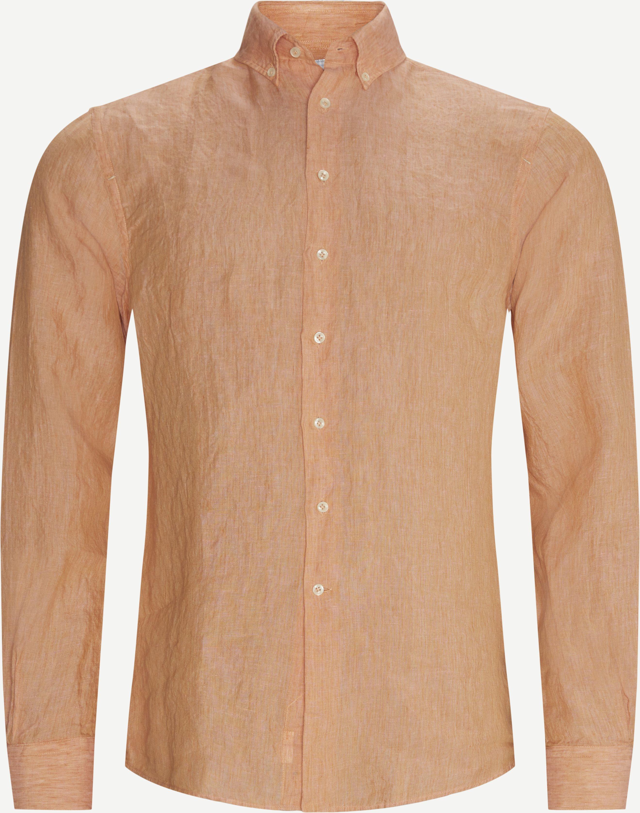Summer Linen Skjorte - Shirts - Regular fit - Red
