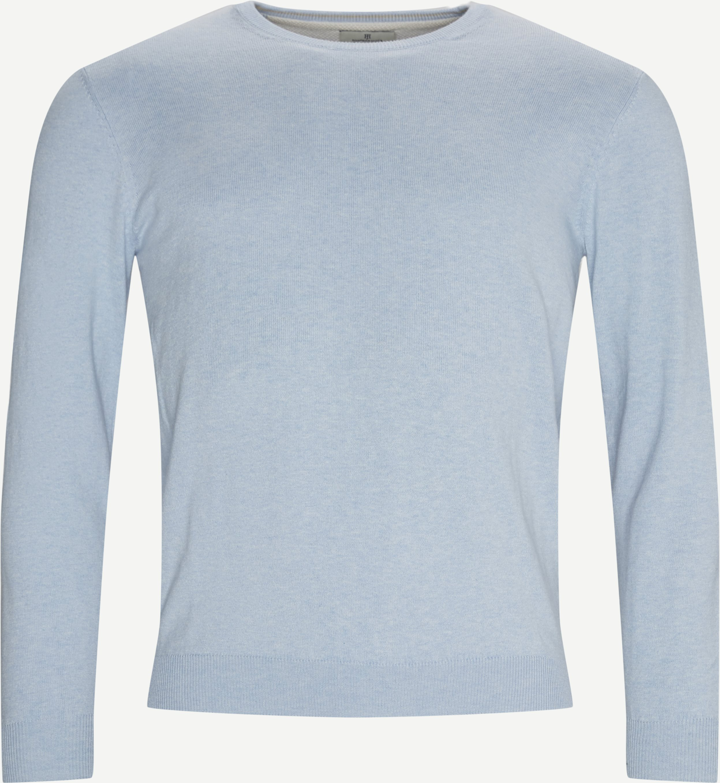 Cashmere Crewneck Strik - Knitwear - Regular fit - Blue