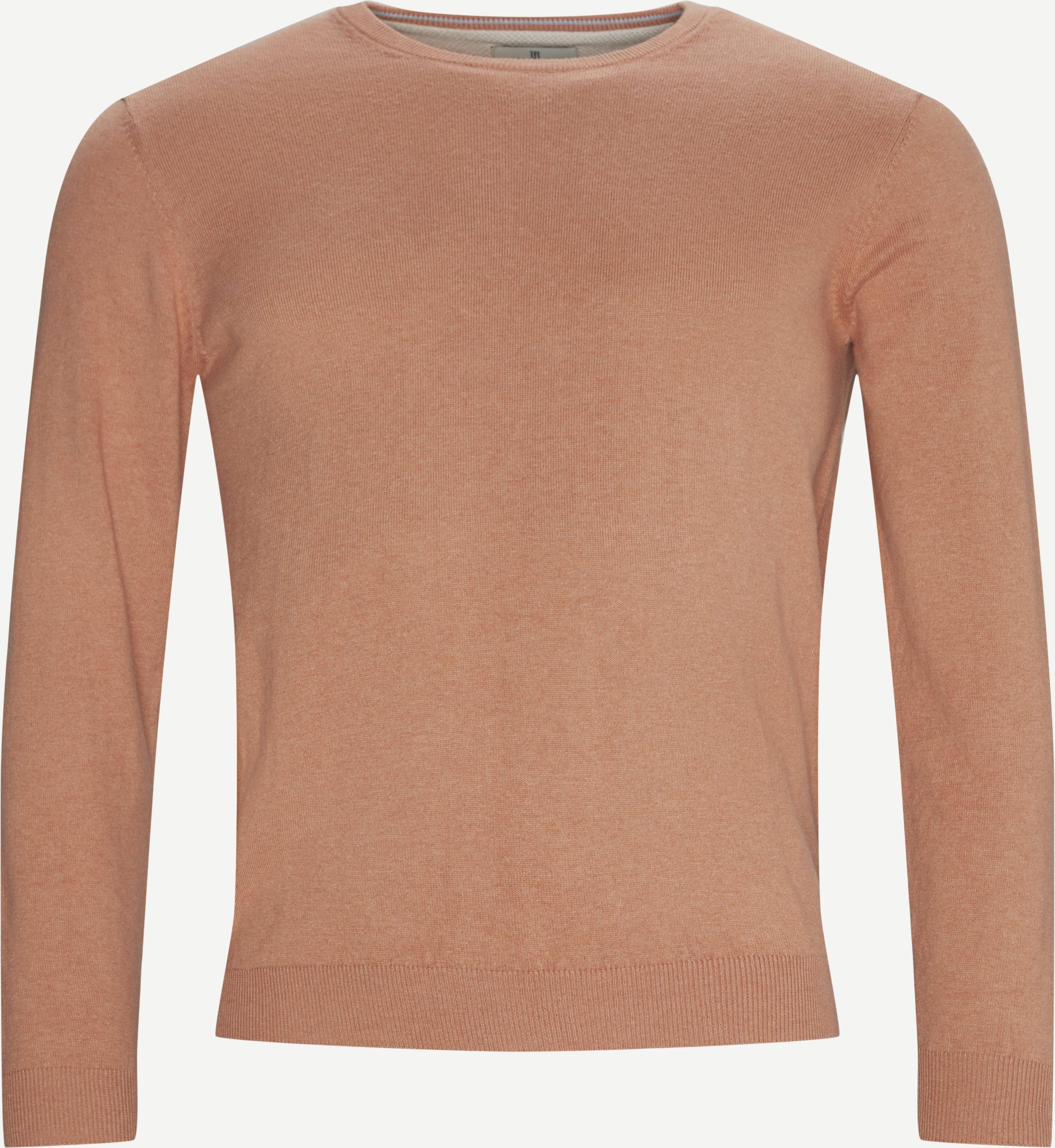 Cashmere Crewneck Strik - Knitwear - Regular fit - Red